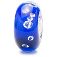 Trollbeads UU81007 - Universal Blue diamond bead